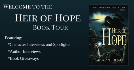 Heir of Hope Book tour