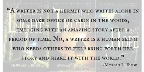 A writer is not a hermit who writes