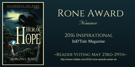Heir of Hope Rone Award