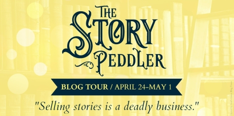 The Story Peddler Blog Tour Banner