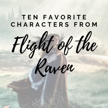 Ten Favorite Characters from